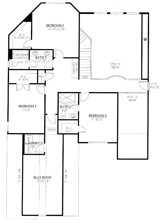 Second Floor Floor Plan