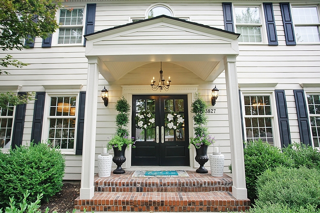 Sherwin Williams SW2074 Fencepost White House Color is Sherwin Williams Fencepost White Sherwin Williams SW2074 Fencepost White #SherwinWilliamsSW2074FencepostWhite #SherwinWilliams #SW2074 #FencepostWhite