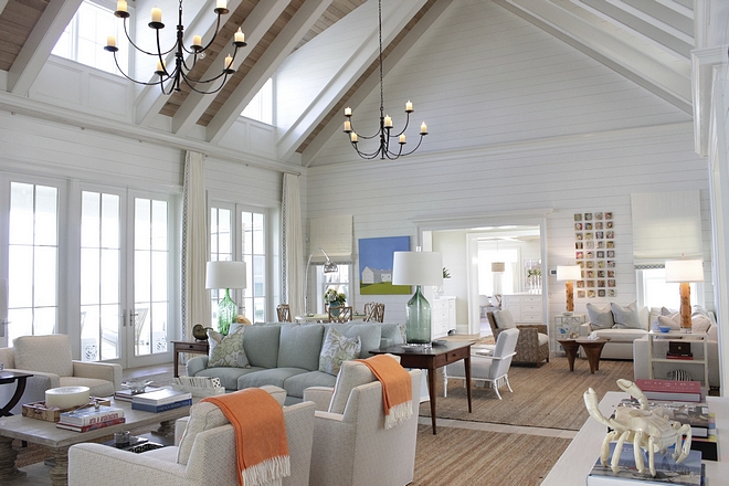 Benjamin Moore White Dove Classic White Paint Color For Shiplap