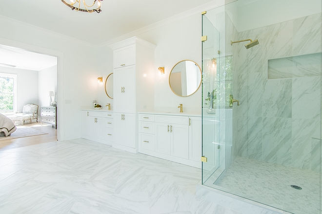Volakas Marble Volakas Marble Volakas Marble beautiful white marble with light grey vein Volakas Marble #VolakasMarble