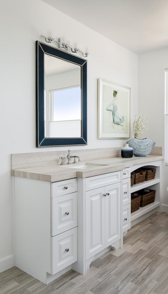 Bathroom Stone Countertop Quartzite Bathroom Stone Countertop Neutral Quartzite Bathroom Stone Countertop #Quartzite #Bathroom #StoneCountertop