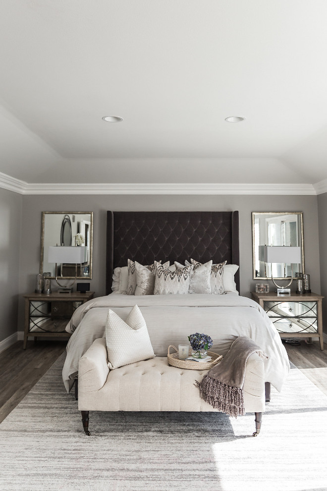 Gray Pearl by Dunn Edwards bedroom paint color Gray Pearl by Dunn Edwards Gray Pearl by Dunn Edwards #GrayPearlbyDunnEdwards #bedroompaintcolor