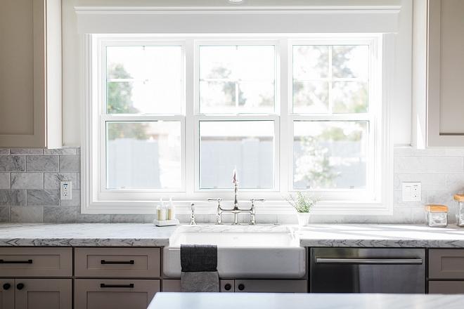 Kitchen window Three windows above kitchen sink #kitchnewindow #kitchenwindow #kitchen #window