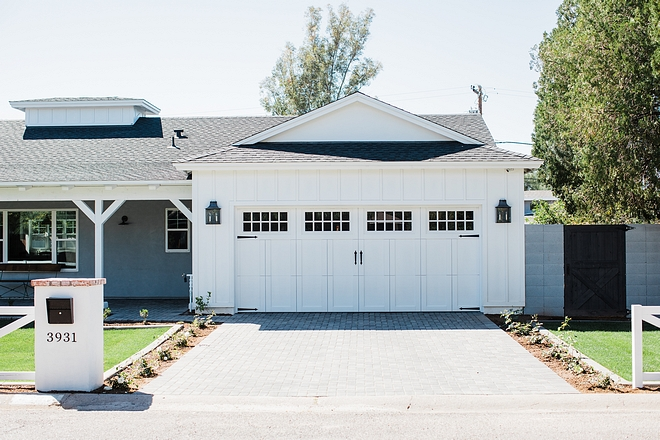 Farmhouse Garage Board and Batten Farmhouse Garage Farmhouse Garage Board and Batten Farmhouse Garage Design #FarmhouseGarage #Farmhouse #BoardandBatten #Garage