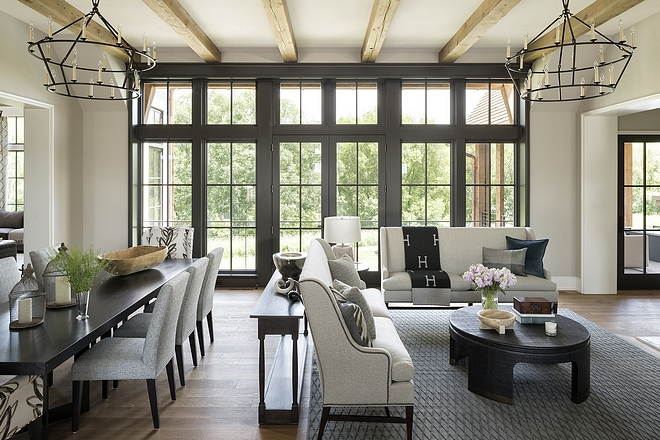 Open Layout The open-air environment is flooded with natural light and enhanced by a consistent color palette which connects the spaces perfectly #openlayout