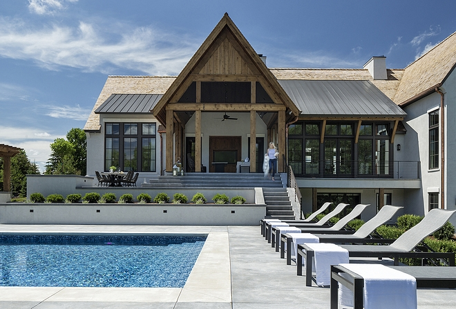 Design meets function, delineating an optimized floor plan with formal and informal spaces that open to the exterior grounds for fluid indoor/outdoor living and entertainment