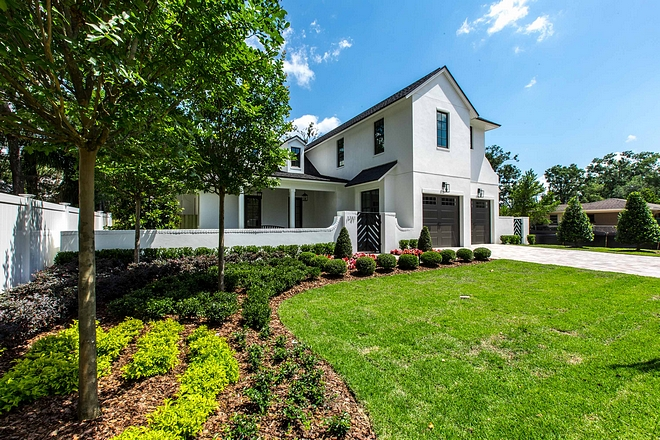Landscaping Curb-appeal The meticulously landscaped front yard surely adds to the curb-appeal of this home Landscaping Curb-appeal #Landscaping #Curbappeal