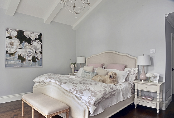 Wall colour Benjamin Moore HC-171 Wickham Grey