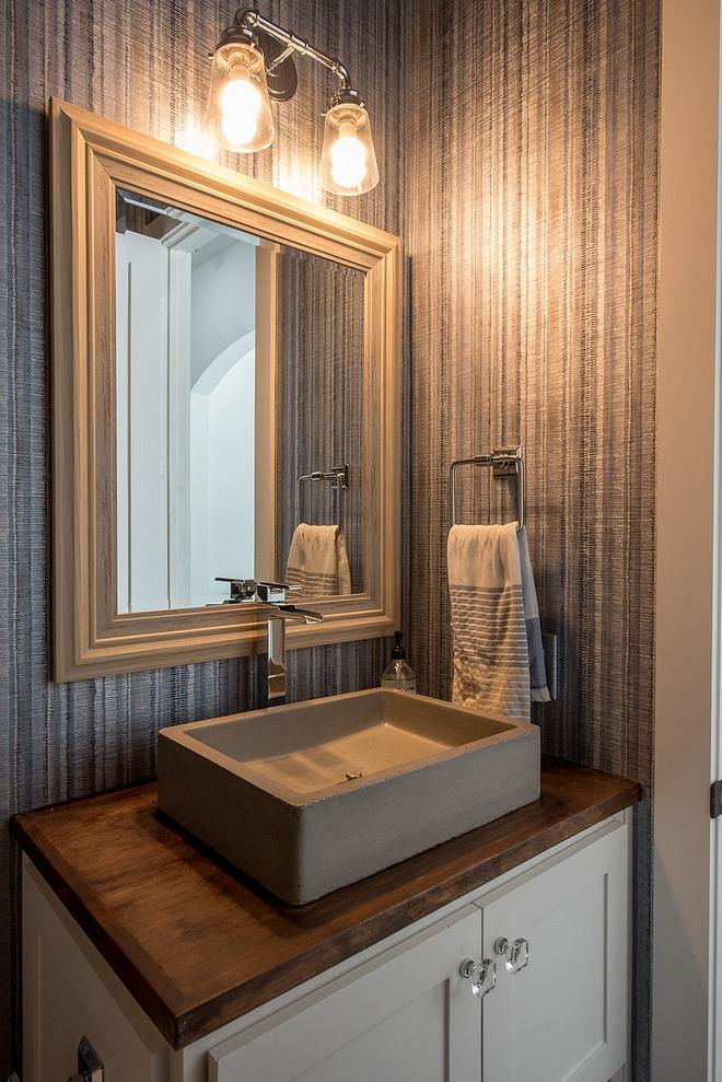 Bathroom Concrete Vessel Sink Concrete Vessel Sink Bathroom with Concrete Vessel Sink #ConcreteVesselSink #Bathroomsink