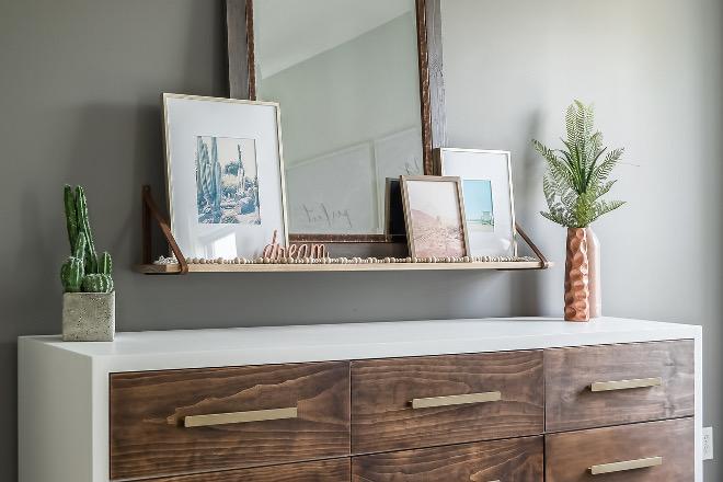 DIY Bedroom Dresser DIY Bedroom Dresser with 9 drawers and quartz waterfall edge DIY Bedroom Dresser DIY Bedroom Dresser #DIYDresser