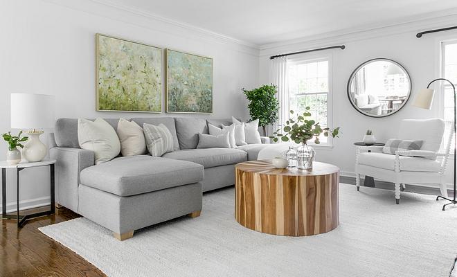 Benjamin Moore Simply White interior paint color category whites Benjamin Moore Simply White