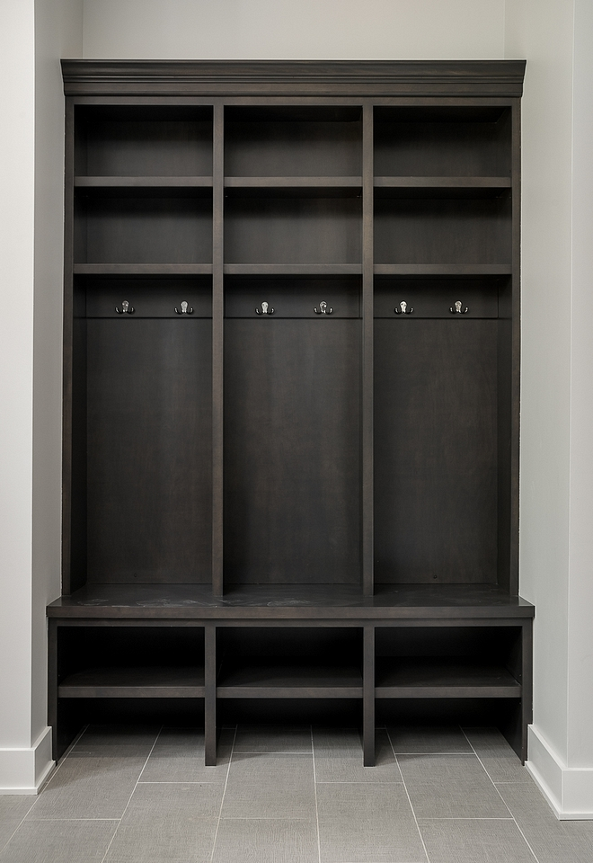 Mudroom Lockers Cabinetry Maple stained Ebony Mudroom Lockers Cabinetry Maple stained Ebony Mudroom Lockers Cabinetry Maple stained Ebony #Mudroom #mudroomLockers #Cabinetry #Maple