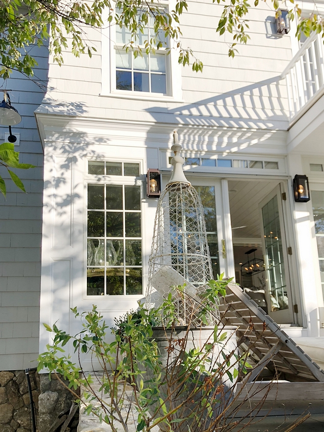 Exterior Window Trim Exterior window Trim We designed a lot of detail into the woodwork around the windows and added some flairs to the upper portion of the siding #ExteriorWindowTrim