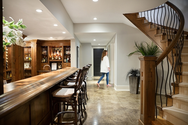 Concrete basement flooring Floor is heated concrete #basementFlooring #heatedconcrete