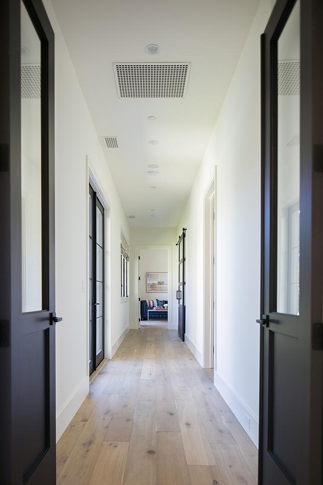 Hardwood Flooring French White Oak Hardwood Flooring French White Oak with walls painted in Benjamin Moore White Dove Hardwood Flooring French White Oak #HardwoodFlooring #FrenchWhiteOak
