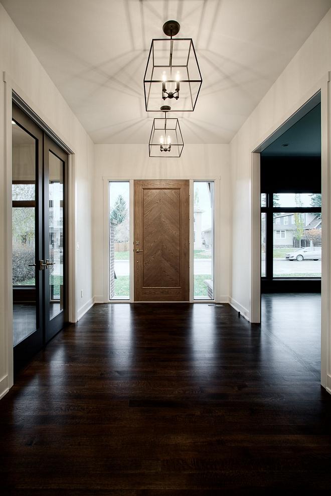 "Dark Hardwood flooring Hardwood throughout 4"" finished on site 1/4 sawn white oak with a custom stain Dark Hardwood flooring Dark Hardwood flooring #DarkHardwoodflooring #Hardwoodflooring #Hardwood #flooring"