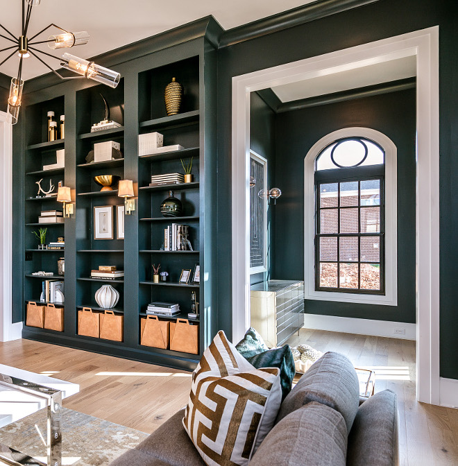 Paint Color PPG1012-7 Black Forest paint color is part of the Grays and Blacks color family Greys and blacks paint color #paintcolor