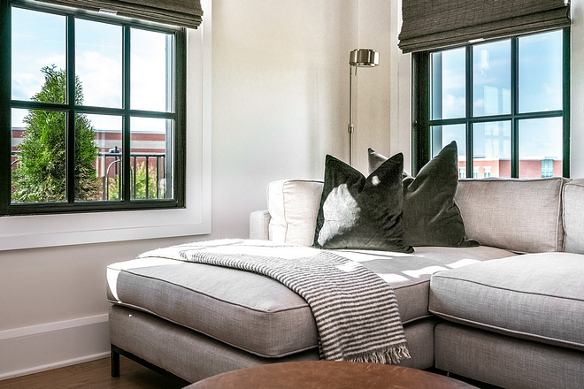 Sectional pillow and throw styling ideas
