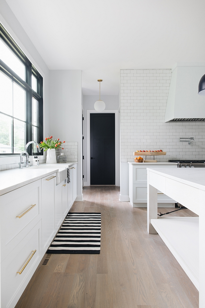 "Kitchen Hardwood Flooring Site finished 4"" white oak floors with custom stain Timeless hardwood flooring color Kitchen Hardwood Flooring ideas Kitchen Hardwood Flooring #KitchenHardwoodFlooring #Kitchen #HardwoodFlooring"