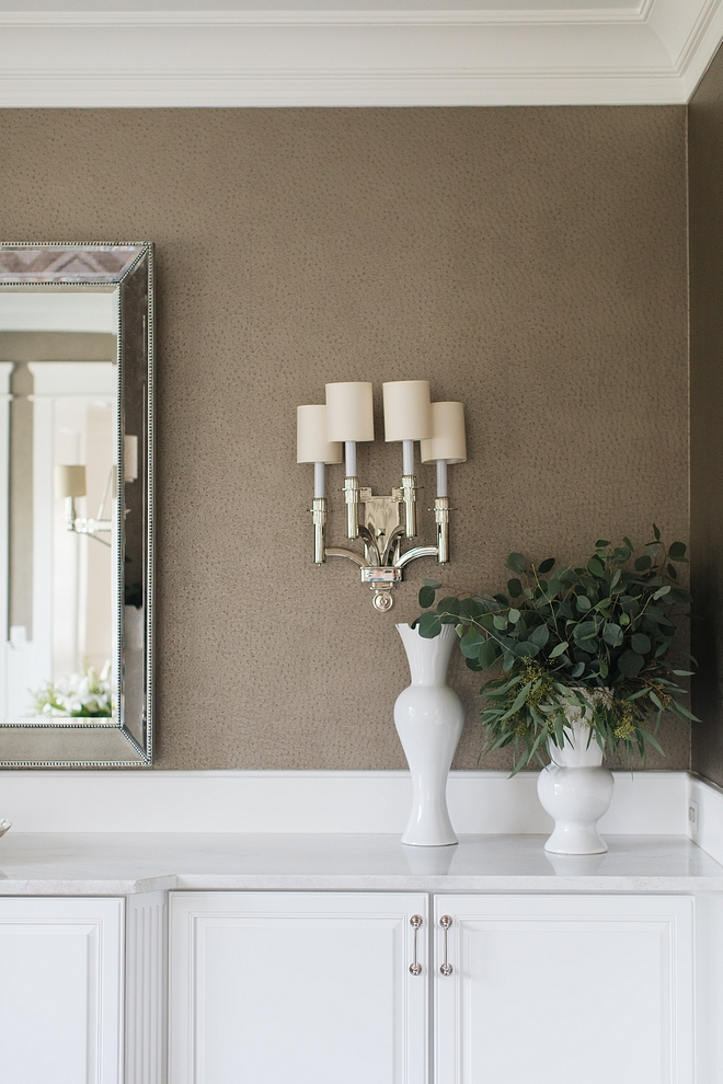 Sconces are Troy Sconces by Visual Comfort