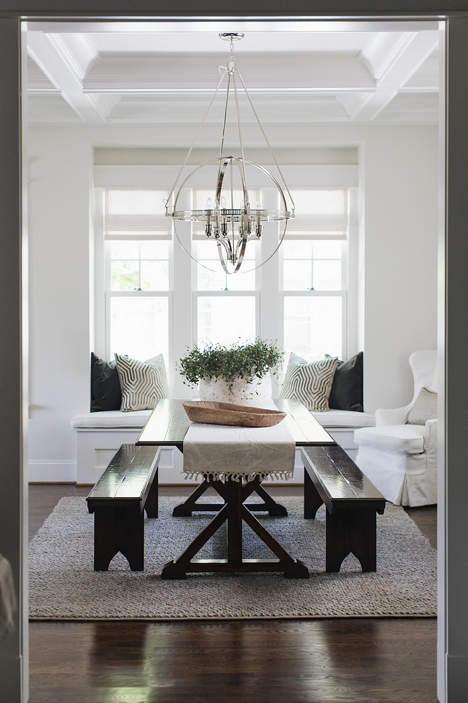 Dining Room with Dining Set with Bench Dining Room with Dining Set with Benches Dining Room with Dining Set with Bench Ideas Dining Room with Dining Set with Bench #DiningRoom #DiningSet #diningBench