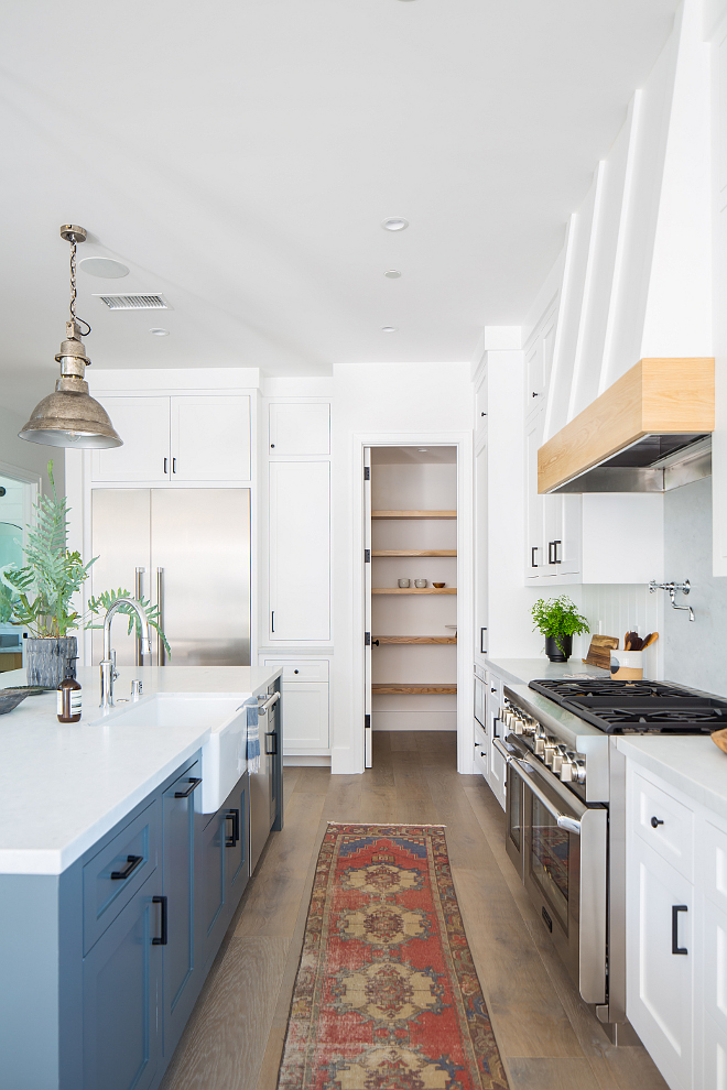 Kitchen Pantry Layout Kitchen Pantry Layout This kitchen features a walk-in pantry with White Oak shelves #Kitchen #Pantry #kitchenpantryLayout