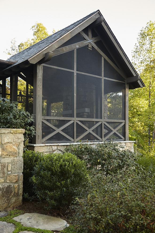 Screened-in Porch Rustic Screened-in Porch Screened-in Porch Ideas Screened-in Porch Screened-in Porch #ScreenedinPorch#RusticScreenedinPorch