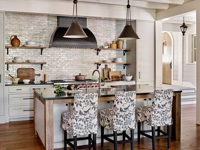Kitchen Island Shiplap and Timber Kitchen Island Kitchen island is Timber framed with shiplap sides and doors in front of the island #KitchenIsland #kitchenShiplap #TimberKitchenIsland #timberisland