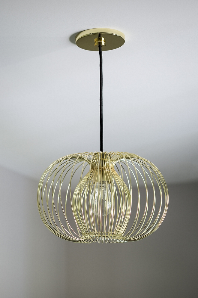 Metal wire shade Pendants Brass Metal wire shade #MetalwireshadePendant #wirependant