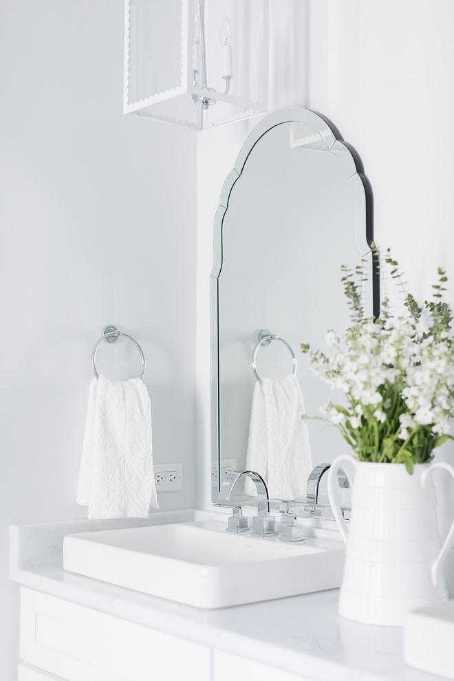 Bathroom vessel sink Modern Bathroom vessel sink with Modern bathroom faucet see sources on Home Bunch Bathroom vessel sink #Bathroom #vesselsink