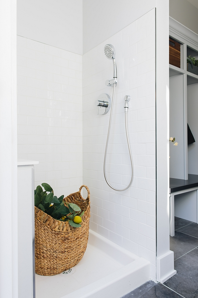 Mudroom Pet Shower Easy ideas for pet shower Pet shower mudroom design ideas Affordable ideas Mudroom Shower Pet Shower #petshower #mudroomshower #mudroompetshower #pets