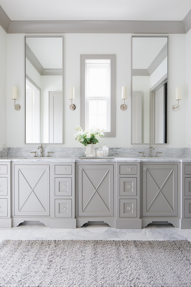 Bathroom Cabinet inset cabinets with X detail on doors The master bathroom features custom inset cabinets with X detail on doors Bathroom Cabinetry Bathroom Cabinet inset cabinets with X detail on doors #Bathroom #Cabinet #Bathroomcabinet #insetcabinets #Xdetailcabinet #xcabinet #xcabinetdoor #cabinetdoors