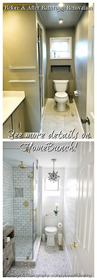Before and After Bathroom Renovation - Home Bunch Interior ...