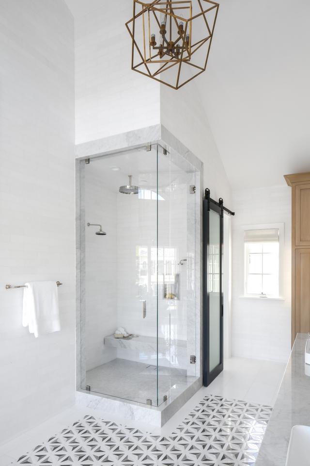 Marble framed shower Marble framed shower Carrara Marble framed shower with Thassos Marble shower Marble floating bench #Marbleframedshower #shower