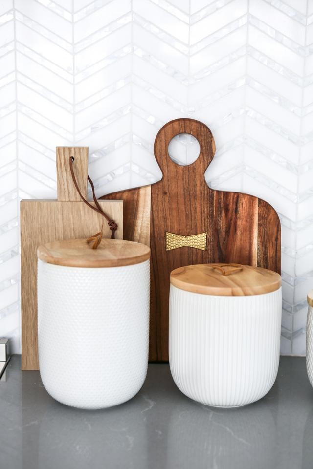 Kitchen Decor Kitchen styling kitchen countertop decor Kitchen decor Textured Kitchen Canisters #Kitchenstyling #kitchen #countertop #kitchendecor #Kitchencountertopdecor #KitchenCanisters #Canisters
