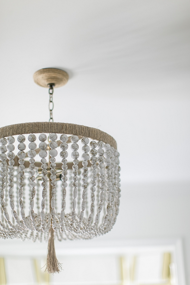 White Bead Chandelier Rope and White Bead Chandelier White Bead Chandelier #WhiteBeadChandelier #ropeBeadChandelier #BeadChandelier