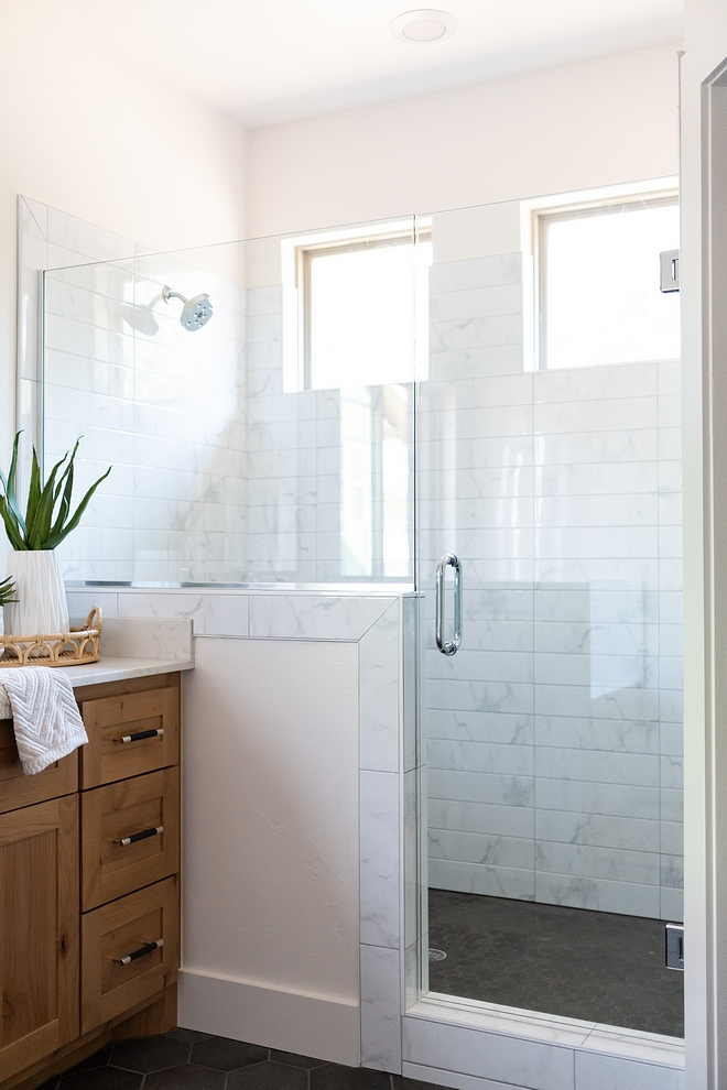 Shower Wall Tile 4x16 marble subway tiles in a straight lay Shower Wall Tile 4x16 marble subway tiles in a straight lay Shower Wall Tile 4x16 marble subway tiles in a straight lay #ShowerWallTile #marblesubwaytile #straightlaytile
