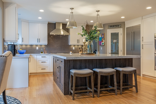 Kitchen Renovation As spring approaches, more and more homeowners are getting ready to start renovating the most important room in the house #kitchenrenovation #kitchen #renovation