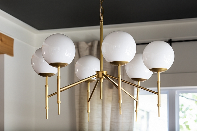Mid century globe and brass chandelier Modern Mid century globe and brass chandelier Mid century globe and brass chandelier #Midcenturyglobechandelier