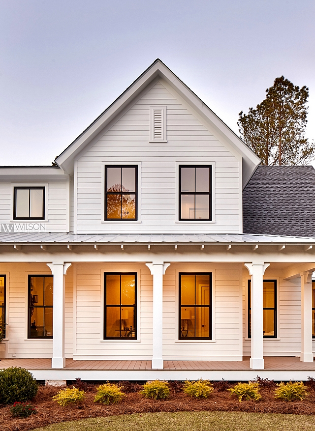 White siding with black windows James Hardie white siding with Black windows White siding with black windows White siding with black windows White siding with black windows White siding with black windows #Whitesiding #blackwindows