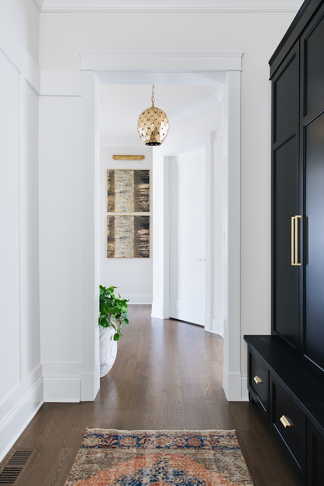 Hardwood with grey finish The hardwood flooring is Oak with 50/50 Classic Grey and Espresso stain color #hardwoodflooring #Hardwoodwithgreyfinish