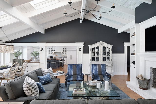 Wrought Iron by Benjamin Moore Interior paint color Wrought Iron by Benjamin Moore Wrought Iron by Benjamin Moore #WroughtIronbyBenjaminMoore #WroughtIron #BenjaminMoore
