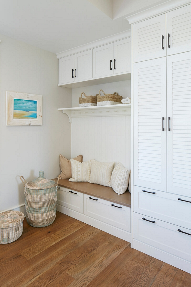 Mudroom Built in with Louvered doors paint color Steam AF-15 Benjamin Moore Mudroom Built in with Louvered doors paint color Steam AF-15 Benjamin Moore Mudroom Built in with Louvered doors paint color Steam AF-15 Benjamin Moore Mudroom Built in with Louvered doors paint color Steam AF-15 Benjamin Moore Mudroom Built in with Louvered doors paint color Steam AF-15 Benjamin Moore #Mudroom #mudroomBuiltin #Louvereddoors #paintcolor #SteamAF15BenjaminMoore