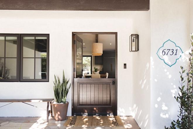 modern spanish hacienda home design