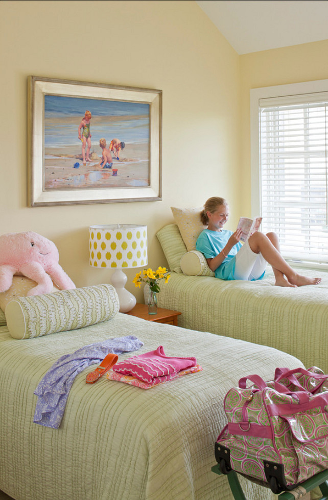 Kids Bedroom. Shared Kids' Bedroom Ideas. #Kids #Bedroom #SharedBedroom