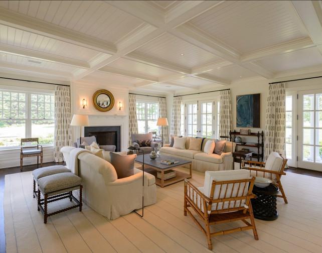 Hamptons Living Room Ideas