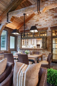 Rustic Ranch Style Home with Inspiring Kitchen - Home ...