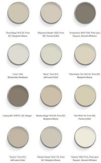 Benjamin Moore Bleeker Beige Is A Great Neutral Tan Paint ...
