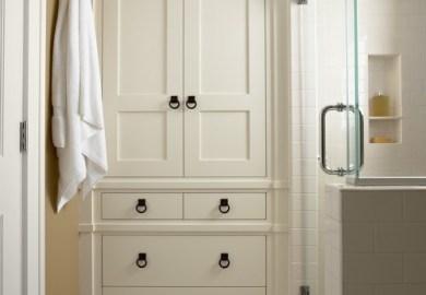 Small Master Bathroom Storage Ideas