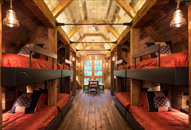 Bunk House With Rustic Interiors Home Bunch – Interior Design Ideas